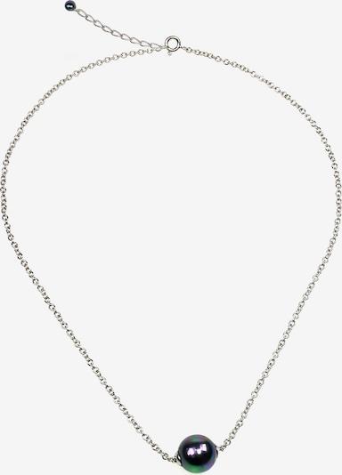 Orquidea Perlenkette 'Dionne' in schwarz / silber, Produktansicht
