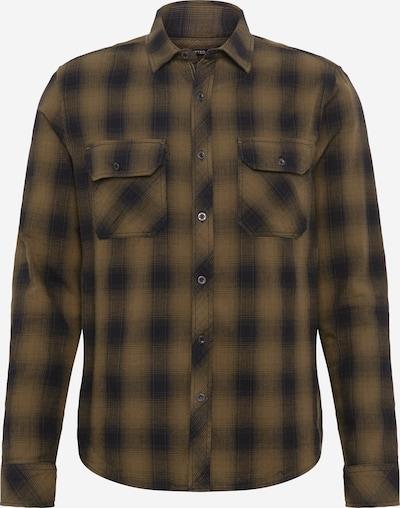 Mavi Overhemd 'INDIGO' in de kleur Grafiet / Olijfgroen, Productweergave