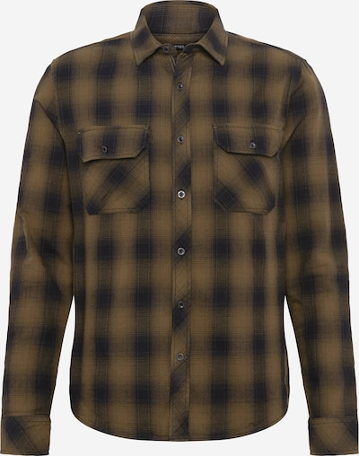 Mavi Hemd 'INDIGO' in graphit / oliv, Produktansicht