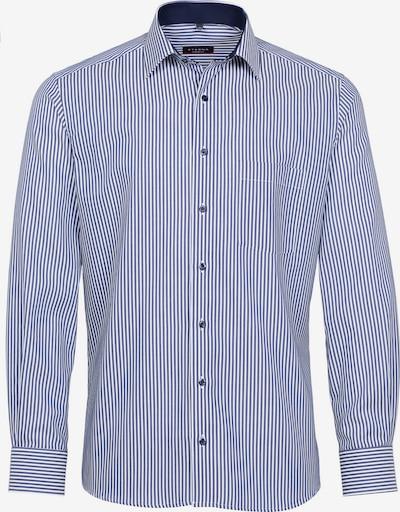 ETERNA Langarm Hemd MODERN FIT in blau / weiß, Produktansicht
