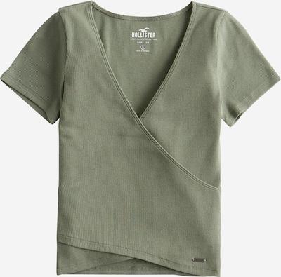 HOLLISTER T- Shirt 'Distortion' in oliv, Produktansicht