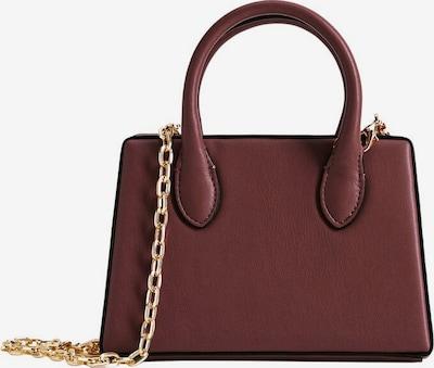MANGO Handtasche in gold / bordeaux, Produktansicht