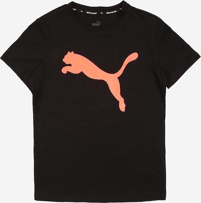 Sportiniai marškinėliai iš PUMA , spalva - koralų splava / juoda, Prekių apžvalga