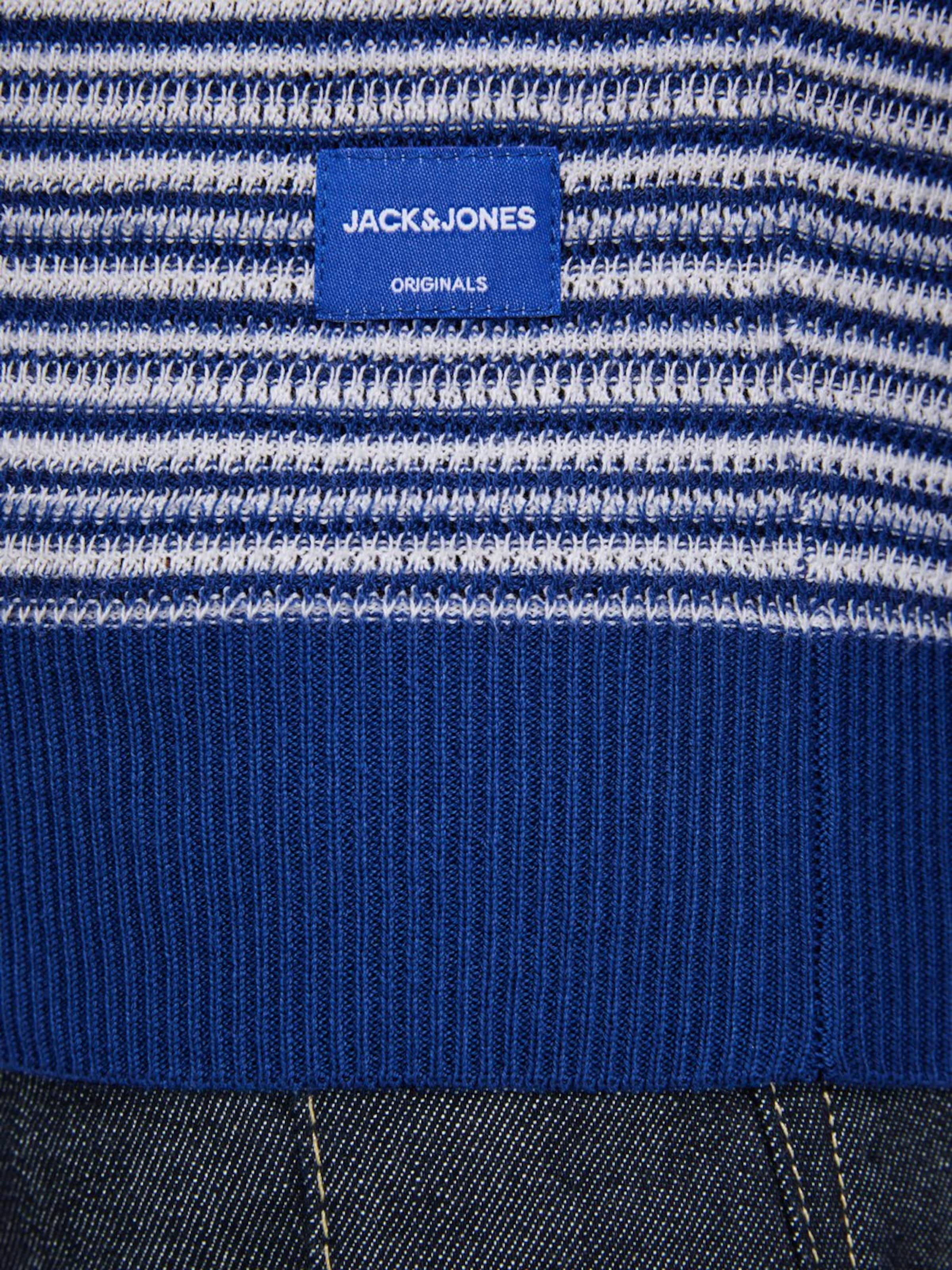 Jackamp; BlauWeiß Jones Strickpullover Jackamp; In 4AjqSc35RL