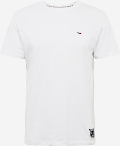 Tommy Jeans T-Shirt en blanc, Vue avec produit