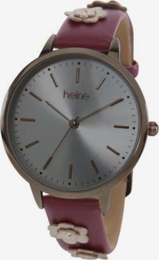heine Analogové hodinky - bordó, Produkt