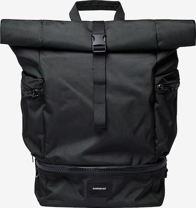 SANDQVIST Rugzak 'VERNER' in de kleur Zwart, Productweergave