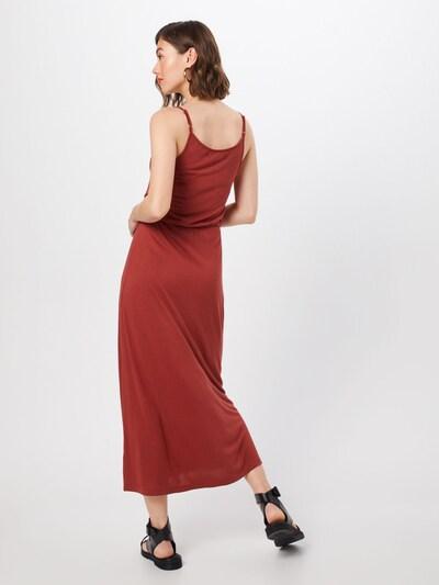 ABOUT YOU Robe 'Elonie' en rouge rouille: Vue de dos