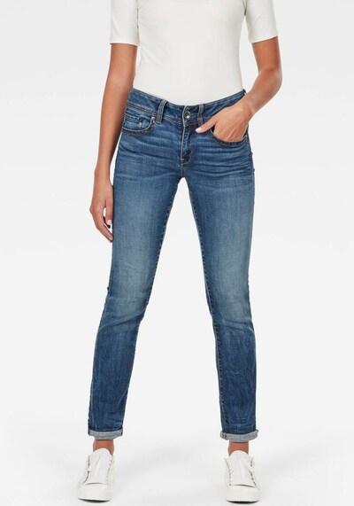 G-Star RAW Jeans 'Midge Saddle' in blau: Frontalansicht