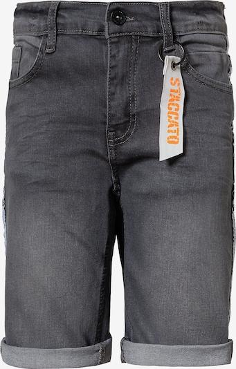 STACCATO Jeansshorts in grey denim, Produktansicht