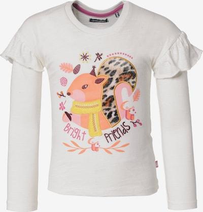 LEMON BERET Langarmshirt in gelb / orange / weiß, Produktansicht