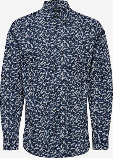 SELECTED HOMME Overhemd in de kleur Blauw / Wit, Productweergave