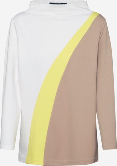 Someday Sweatshirts 'Umrana' in sand / gelb / weiß, Produktansicht