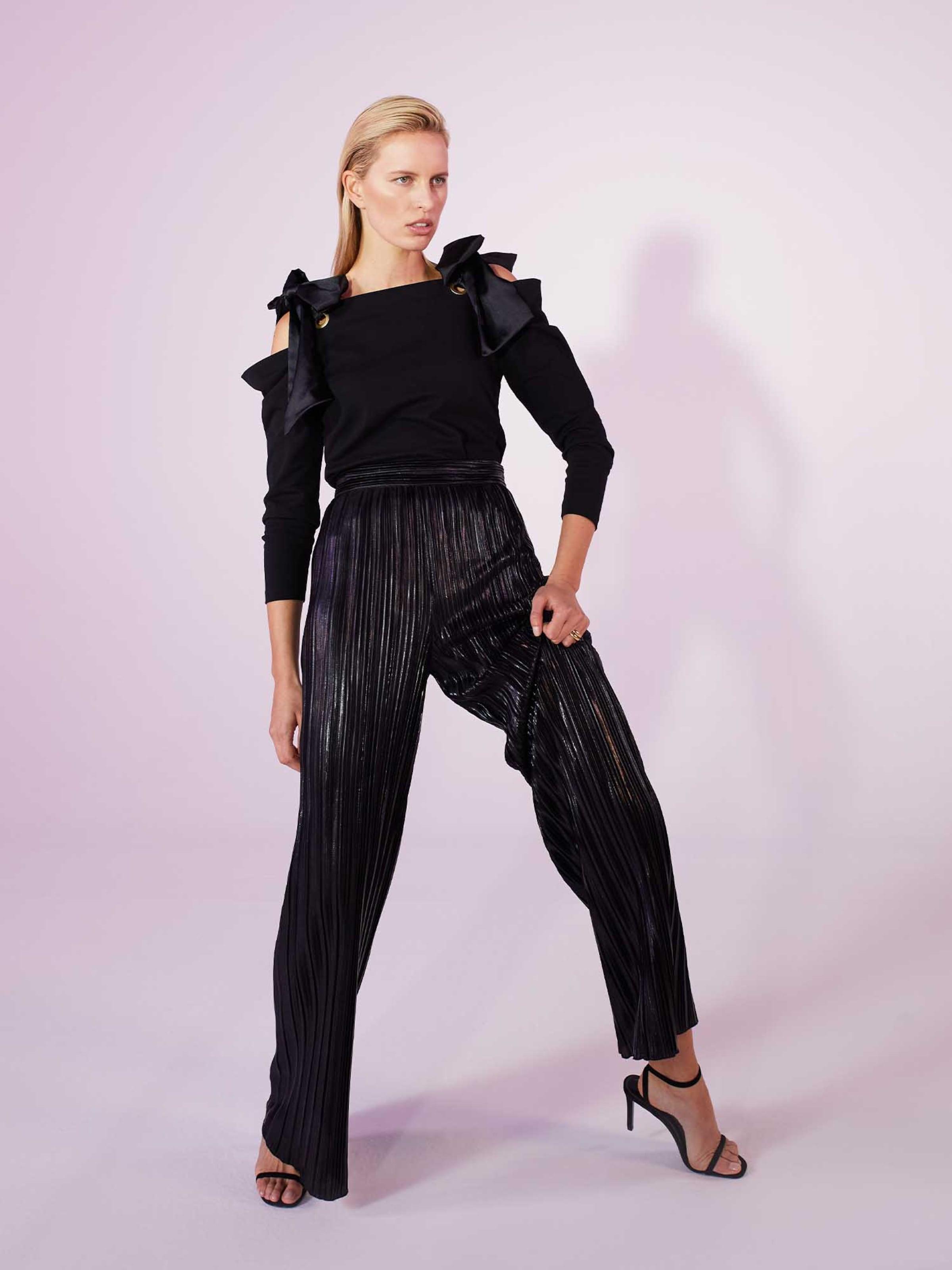 Karolina Kurkova Originals Shirt 'Joyce' in schwarz