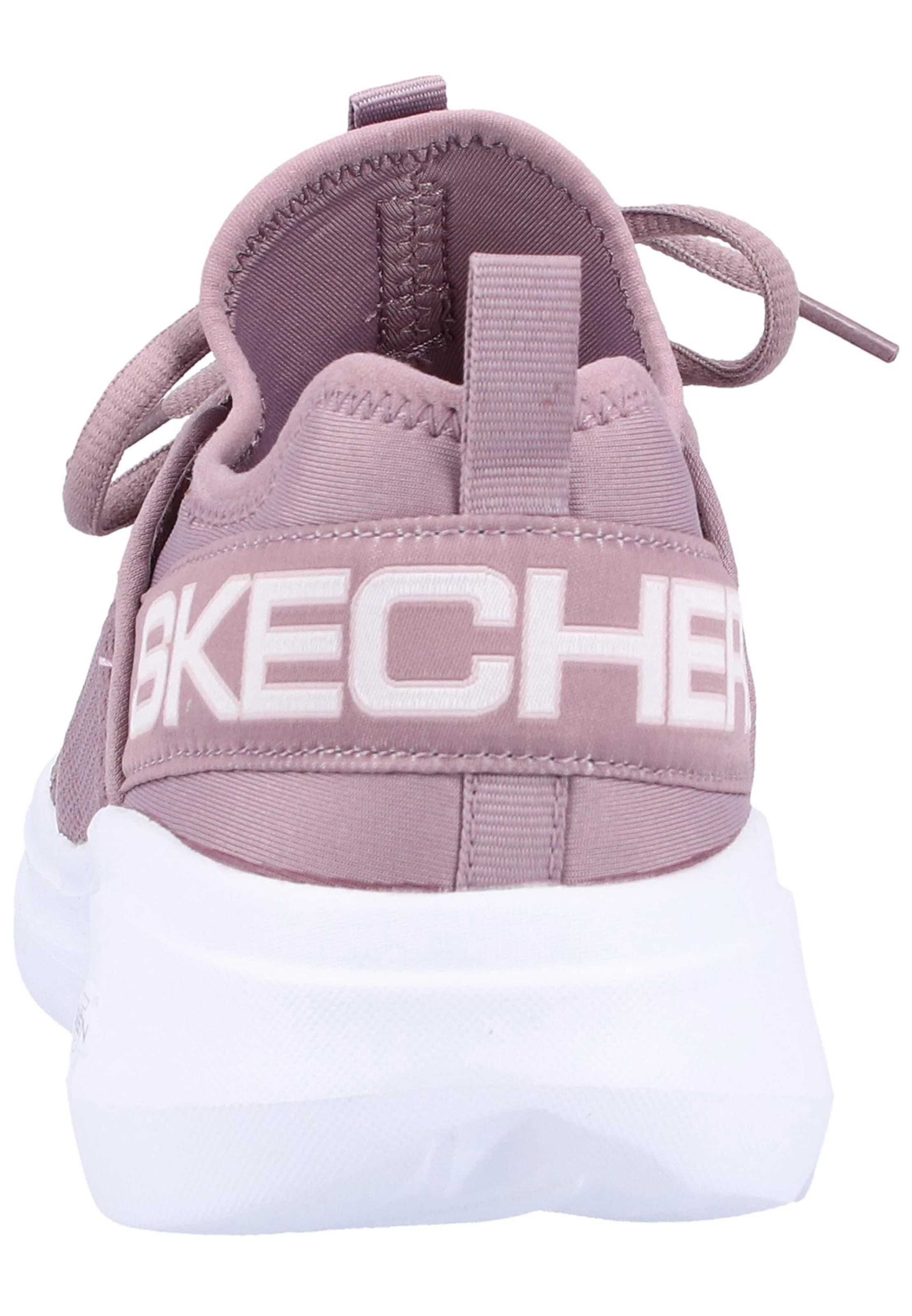 En Skechers Baskets Violet Clair Basses 8kwOPn0