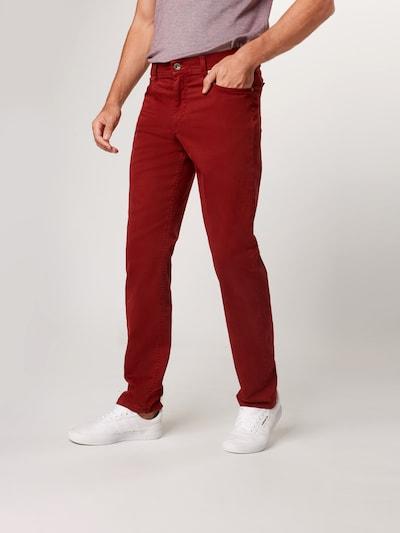 BRAX Jeans 'Cooper fancy' in rot, Modelansicht