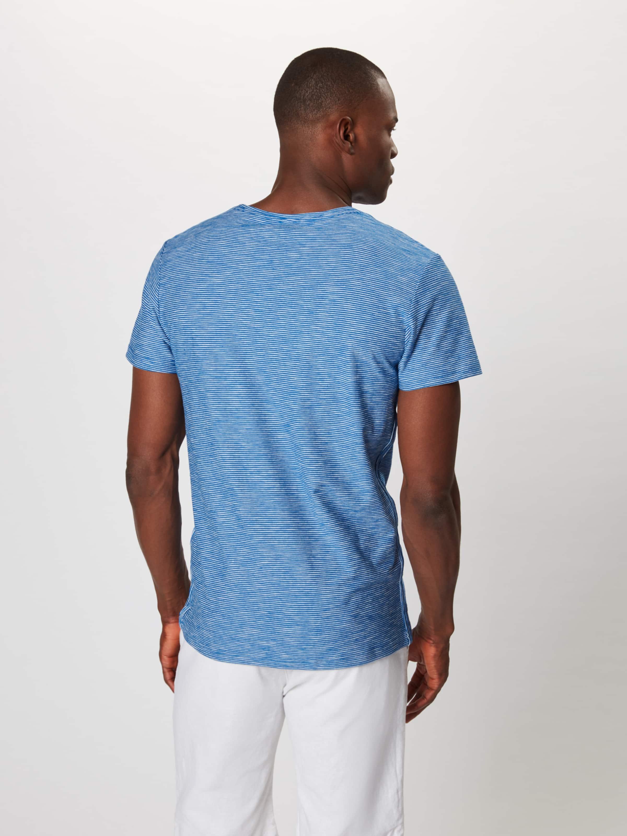 Shirt Blaumeliert Blend Blend 'tee' In bgfvYI6y7