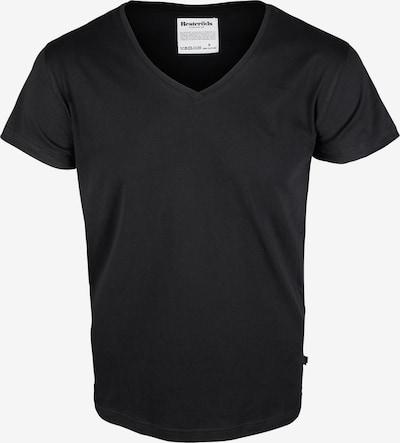 Resteröds Shirt 'No.4' in de kleur Zwart, Productweergave