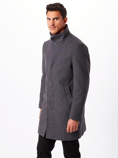 ESPRIT Mantel in graumeliert, Modelansicht