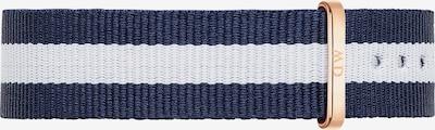 Daniel Wellington Textilband in dunkelblau / weiß, Produktansicht