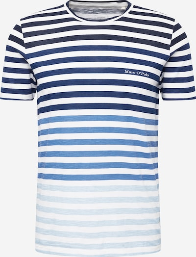 Marc O'Polo T-Shirt in dunkelblau / blaumeliert / weiß, Produktansicht