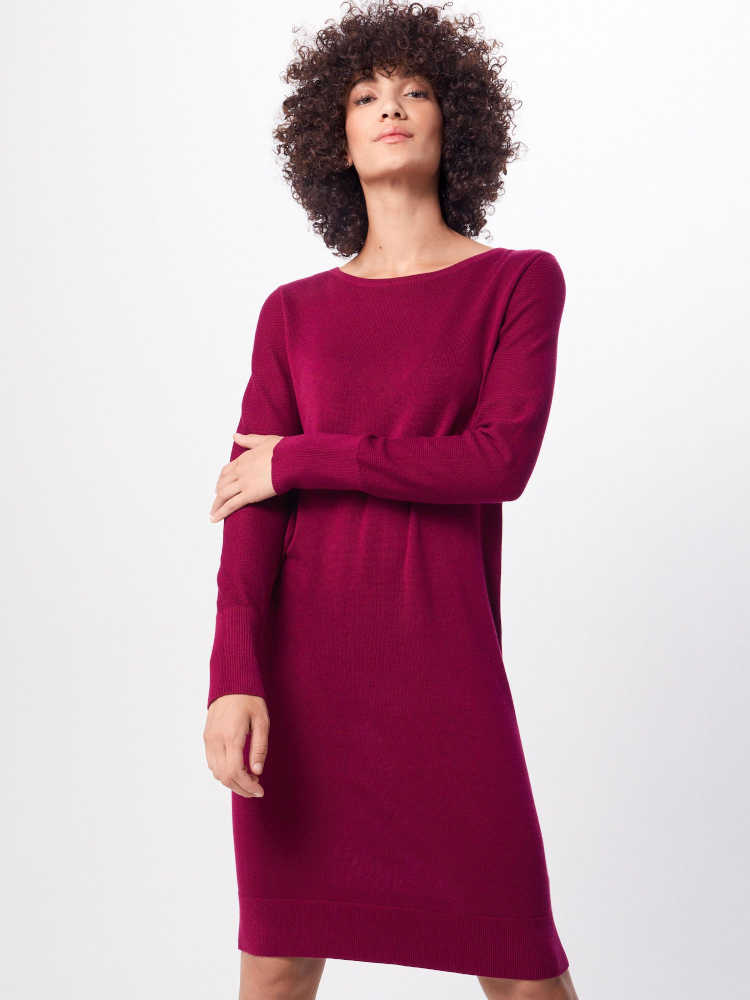 Esprit Maille En Foncé Rouge Robes 7gvfIYyb6