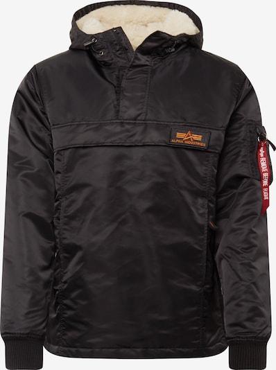 ALPHA INDUSTRIES Zimska jakna 'HPO Anorak' | rdeča / črna barva, Prikaz izdelka