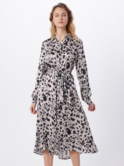 Neo Noir Kleid 'Bristol Spring Leo' in braun / schwarz / offwhite, Modelansicht