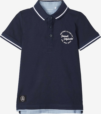 NAME IT Poloshirt in blau, Produktansicht