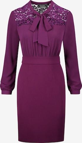 Nicowa Shirt Dress 'OFLAVIA' in Pink