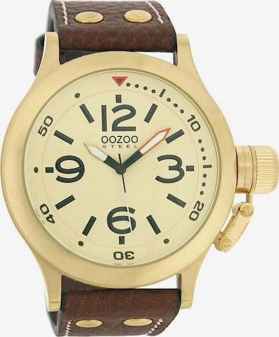 OOZOO Uhr 'OS040' in braun, Produktansicht