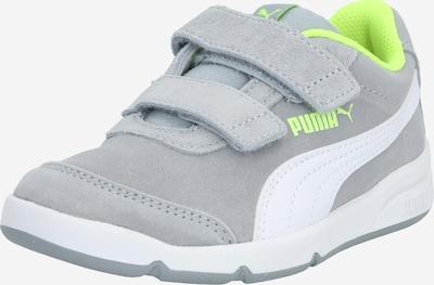 neonsárga / szürke / fehér PUMA Sportcipő 'Stepfleex': Elölnézet
