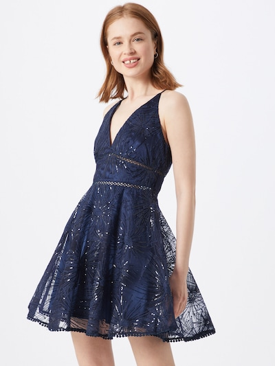 Love Triangle Kleid 'Constellations Dress' in navy, Modelansicht