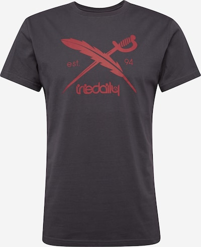 Iriedaily Shirt 'Daily Flag' in dunkelgrau, Produktansicht