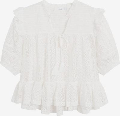 MANGO T-shirt in weißmeliert: Frontalansicht