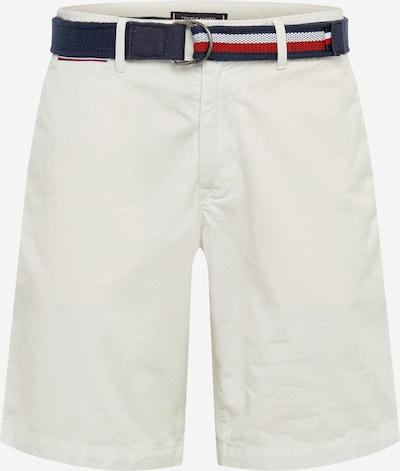 TOMMY HILFIGER Pantalon 'BROOKLYN SHORT LIGHT TWILL BELT' en blanc, Vue avec produit