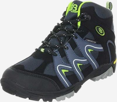 Brütting Boots in de kleur Kobaltblauw / Duifblauw, Productweergave