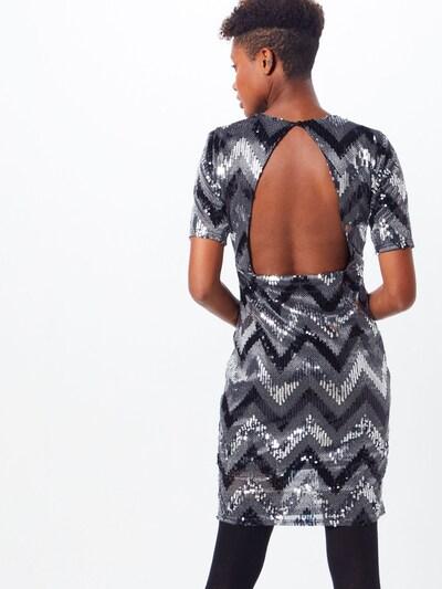 Suknelė 'Sparkle Open-back Dress' iš Pop Copenhagen , spalva - Sidabras: Vaizdas iš galinės pusės