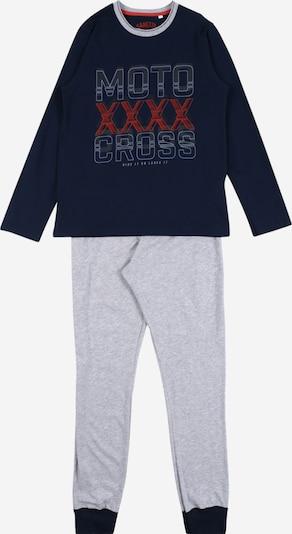 SANETTA Piżama w kolorze niebieska noc / nakrapiany szarym, Podgląd produktu