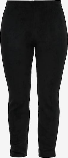 TRIANGLE Jerseyhose in schwarz, Produktansicht