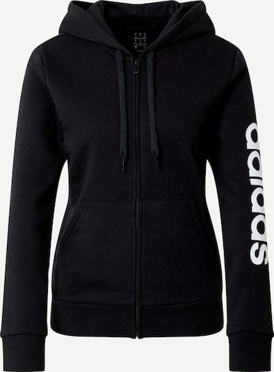 Sportinis džemperis iš ADIDAS PERFORMANCE , spalva - juoda / balta, Prekių apžvalga