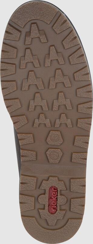 RIEKER Schnürschuh mit Lammfell Günstige und langlebige Schuhe
