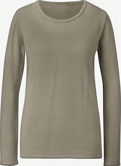 heine Sweater 'LINEA TESINI' in Muddy coloured, Item view