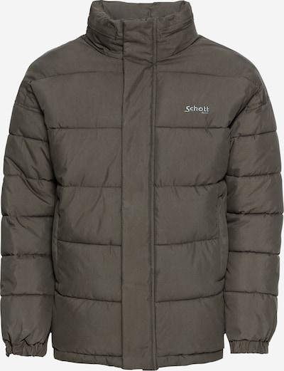 Schott NYC Steppjacke 'NEBRASKA' in khaki, Produktansicht