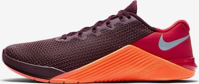 NIKE Fitnessschuh 'Metcon 5' in braun / orange / rot, Produktansicht