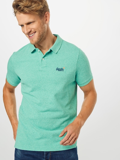 Superdry Shirt in mint: Frontalansicht