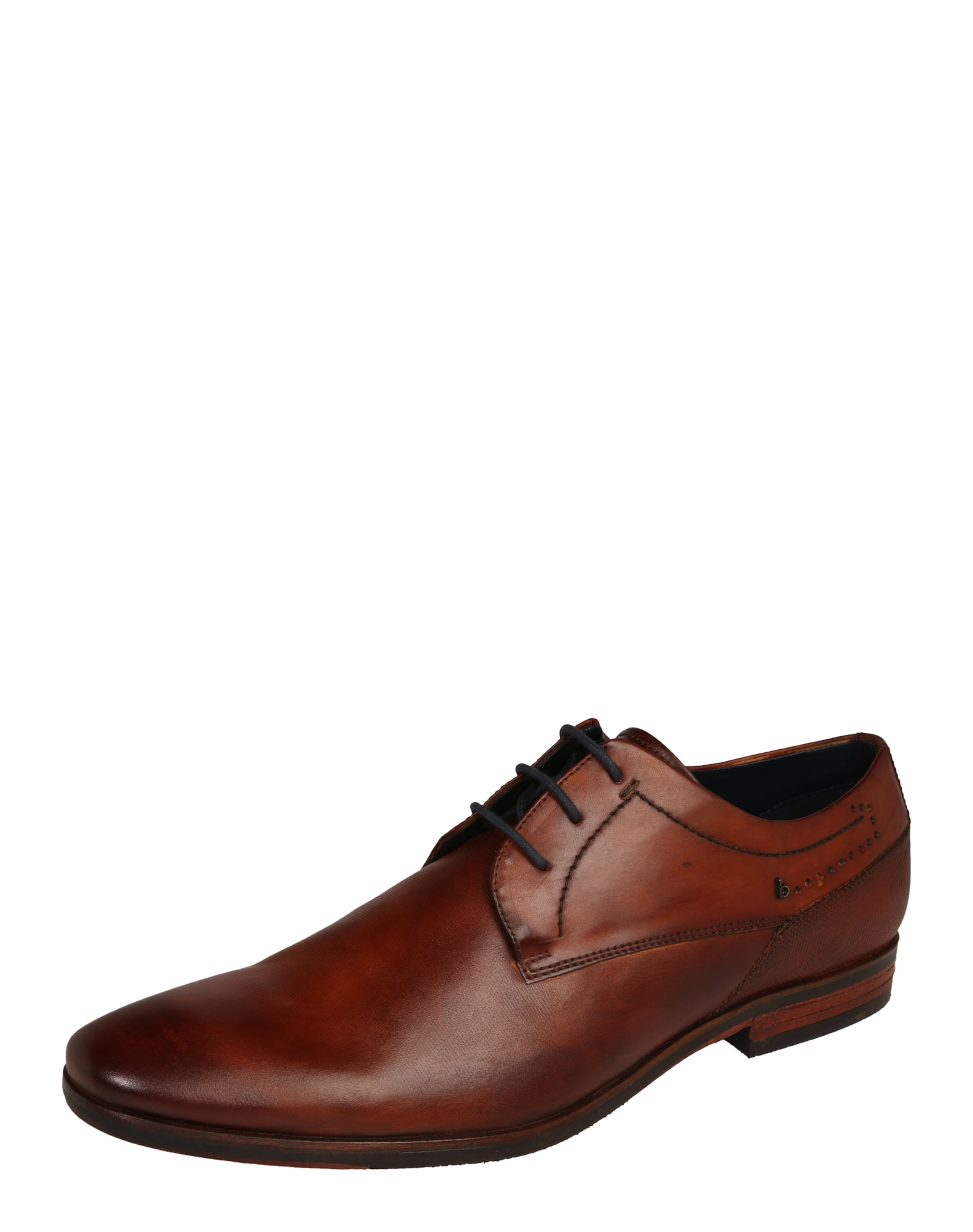 bugatti Derby aus Leder Verschleißfeste billige Schuhe