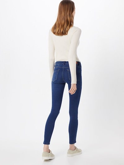 ONLY Jeans 'Royal' in blue denim: Rückansicht