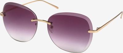 Pilgrim Sonnenbrille 'Dolly' in gold / lila, Produktansicht