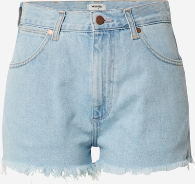 WRANGLER Shorts in blue denim, Produktansicht